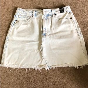Abercrombie and Fitch distressed mini skirt